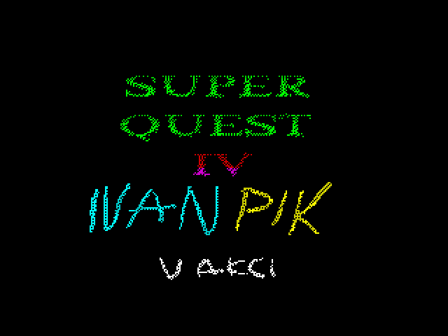 Super Quest IV - Ivan Pik v akci screenshot